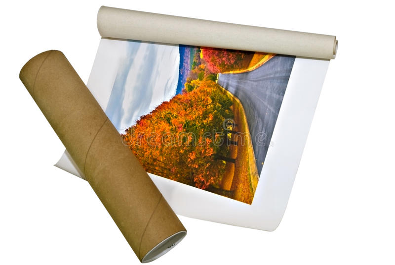 Ordering a Photo Print royalty free stock photos