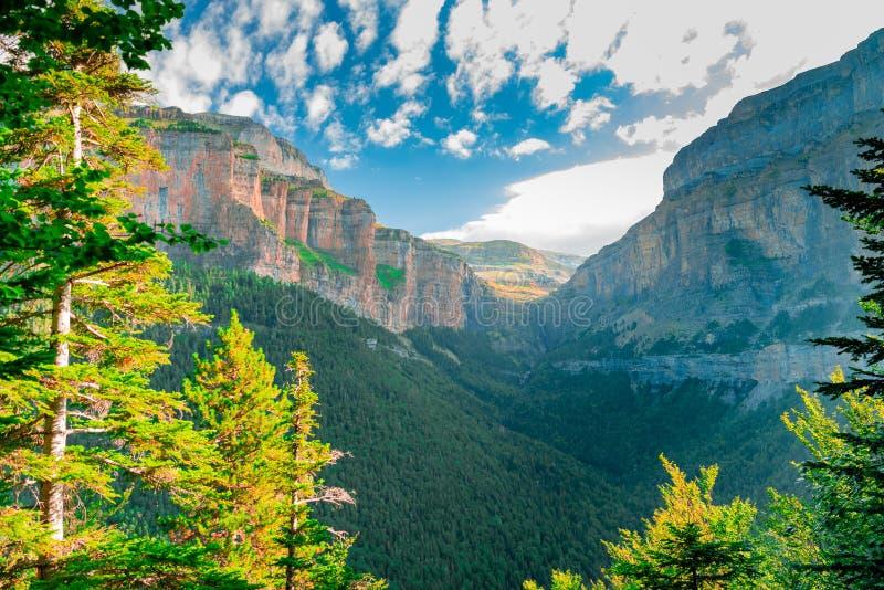 Ordesa e Monte Perdido National Park foto de stock royalty free