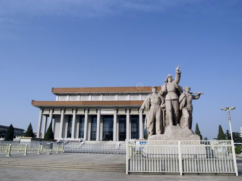 Ordföranden Mao Memorial Hall arkivfoton