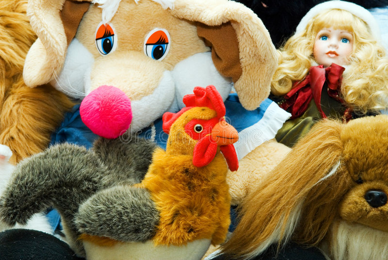 ordinar игрушки стоковое фото rf