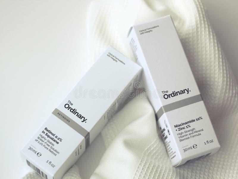 The Ordinary serum stock photos