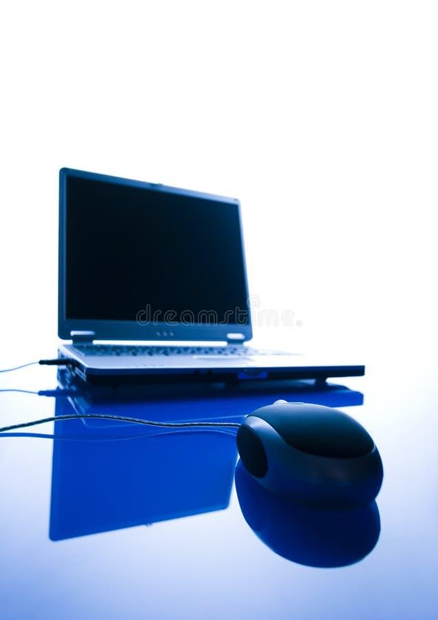 Download Ordinateur photo stock. Image du principal, clavier, réseau - 2141528