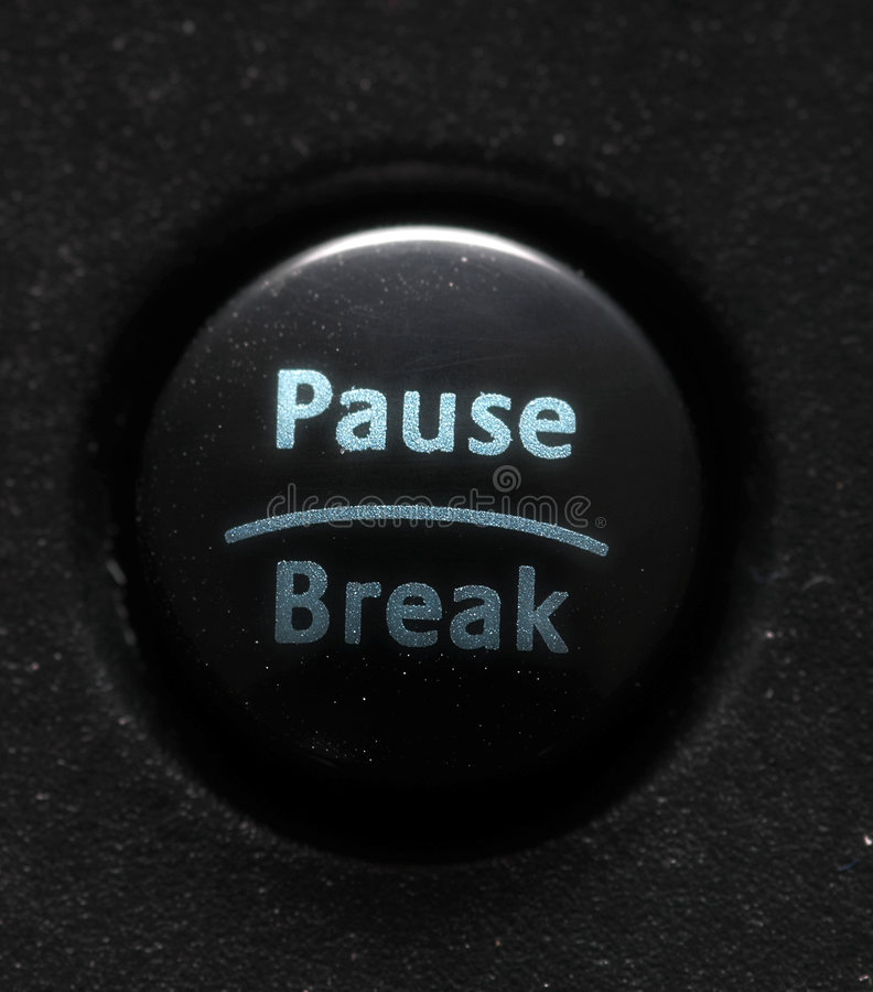 Ordinateur Button-1 Photos libres de droits