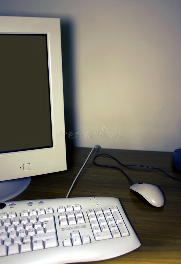 Ordinateur de bureau image stock