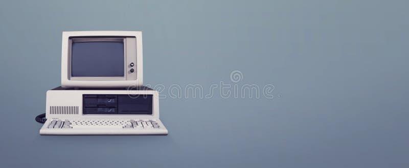 Ordinateur de DOS photographie stock