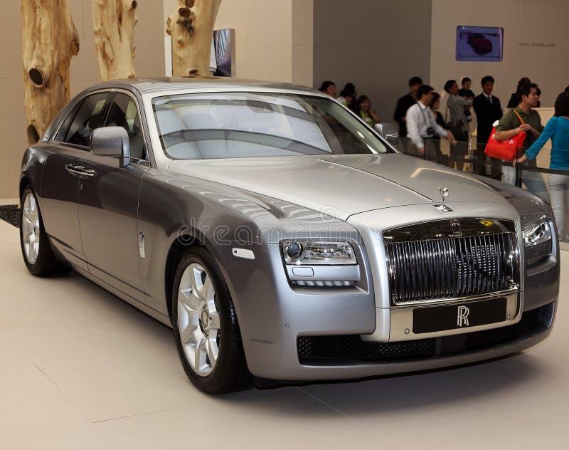 Ordinateur de secours de Rolls Royce photo stock