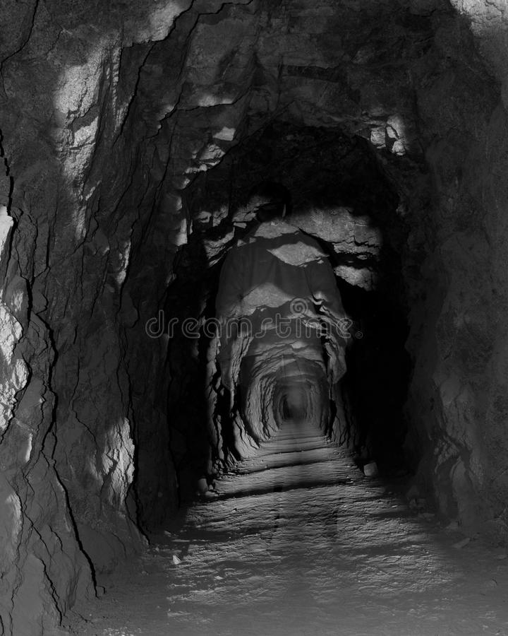 Ordinateur de secours du tunnel photos stock
