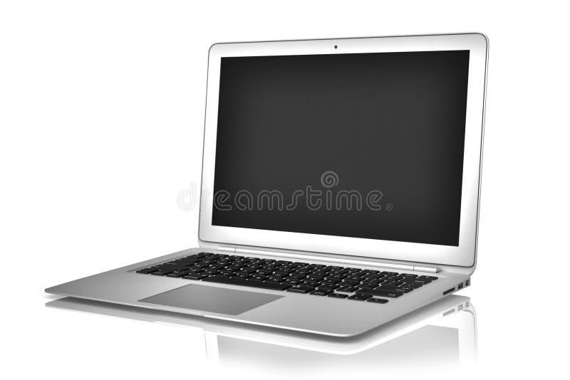 Ordinateur portable d'air de Macbook illustration libre de droits