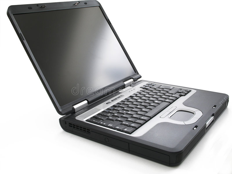 Ordinateur portatif images stock