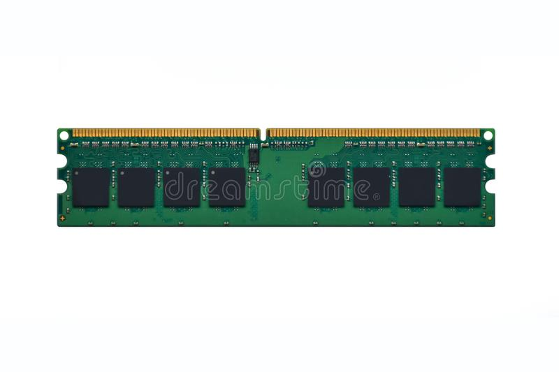 Ordinateur RAM Random Access Memory d'isolat sur le fond blanc photo libre de droits