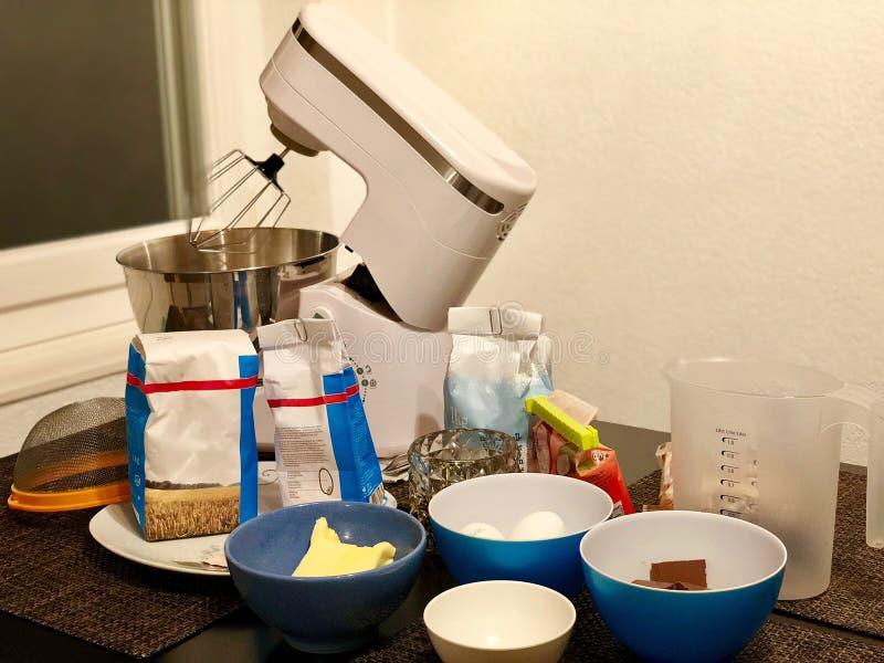 Ordna till för att göra bagerit! arkivbild