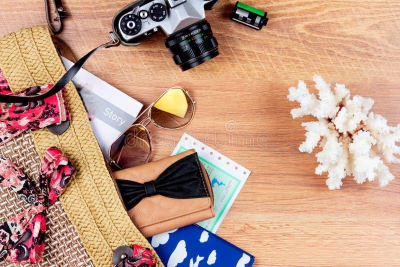 Ordna till för sommarferier arkivbild