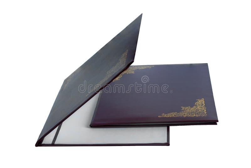 Ordner für Papiere stockfotos