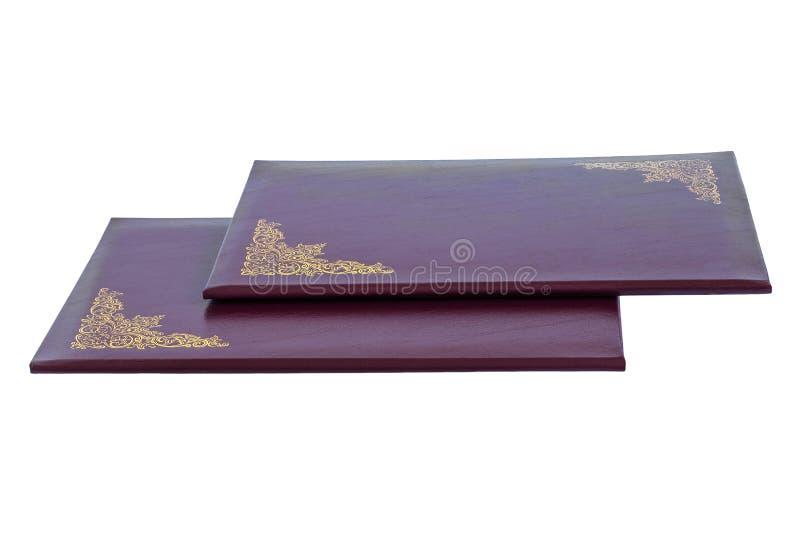 Ordner für Papiere stockbilder