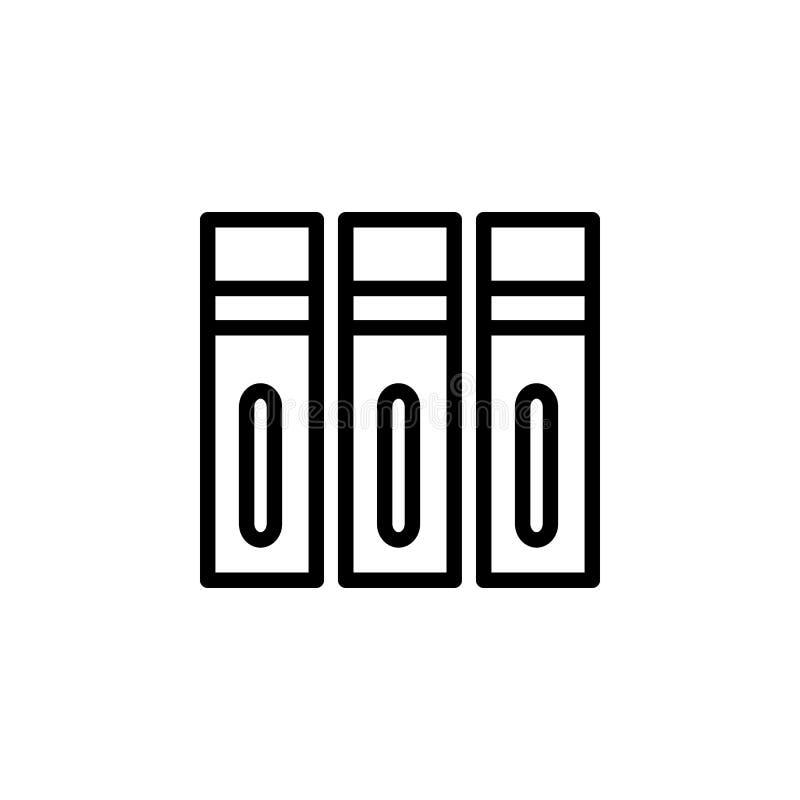 Ordnerikone Kann für Netz, Logo, mobiler App, UI, UX verwendet werden lizenzfreie abbildung