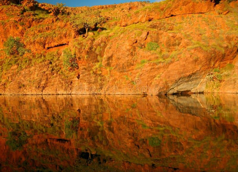 Ordrivier in westelijk Australië royalty-vrije stock afbeeldingen