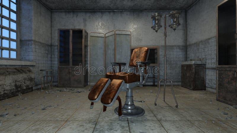 Ordynacyjny pokój ilustracja wektor