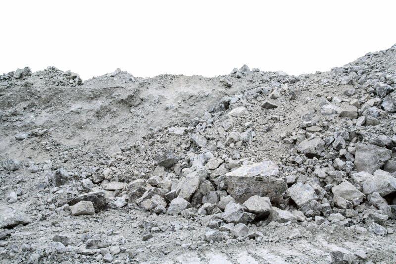 Ore containing chrysotile asbestos. royalty free stock photo