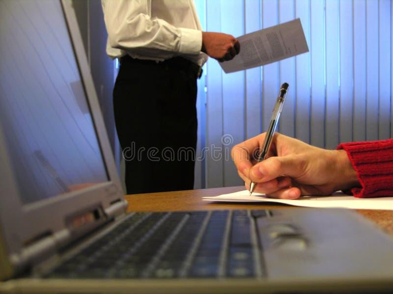 Ore d'ufficio immagini stock libere da diritti