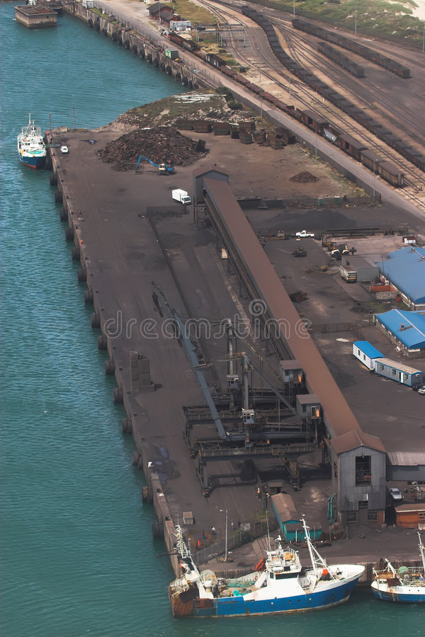 Ore Loading Bay royalty free stock images