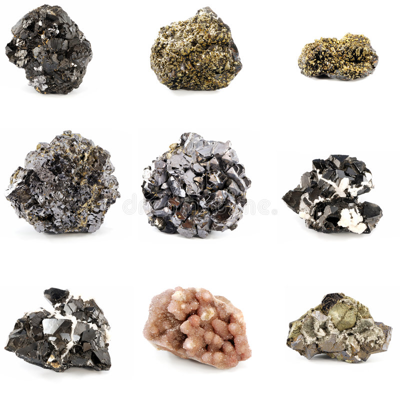 Free Ore Minerals Stock Photography - 7412772
