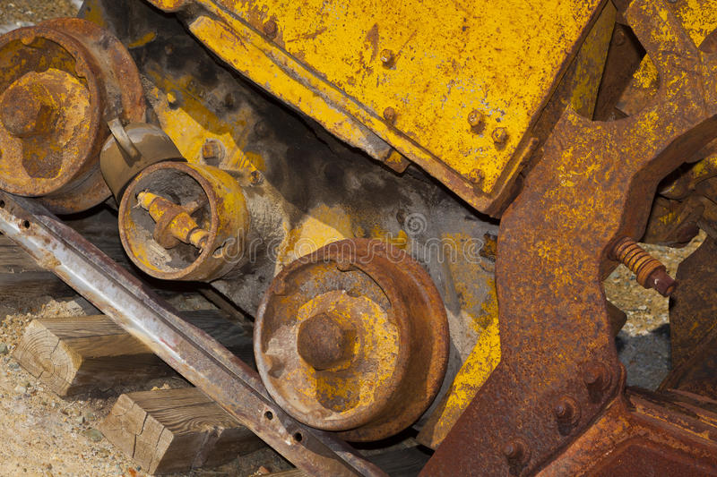 Download Ore Mucker Car stock image. Image of details, miner, rusty - 28394381