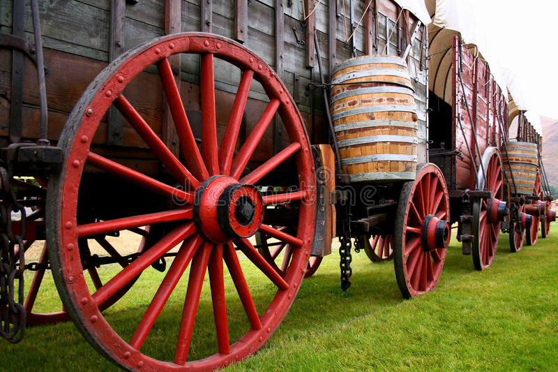 Ore Wagons 4 Royalty Free Stock Images