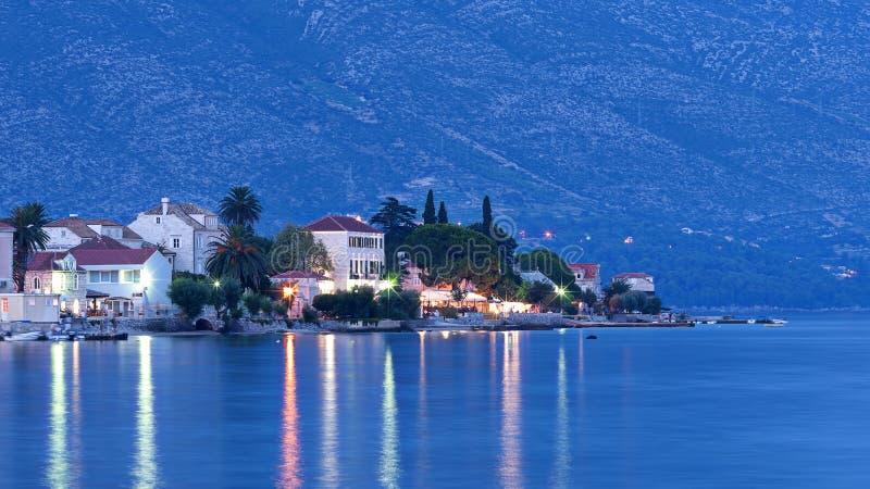 Orebic, Хорватия стоковое изображение