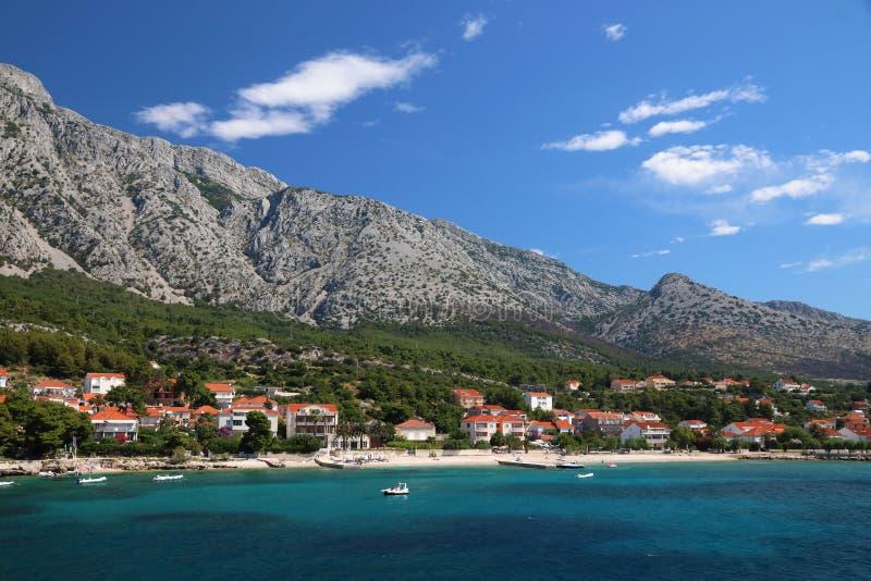 Orebic, Croatie images libres de droits
