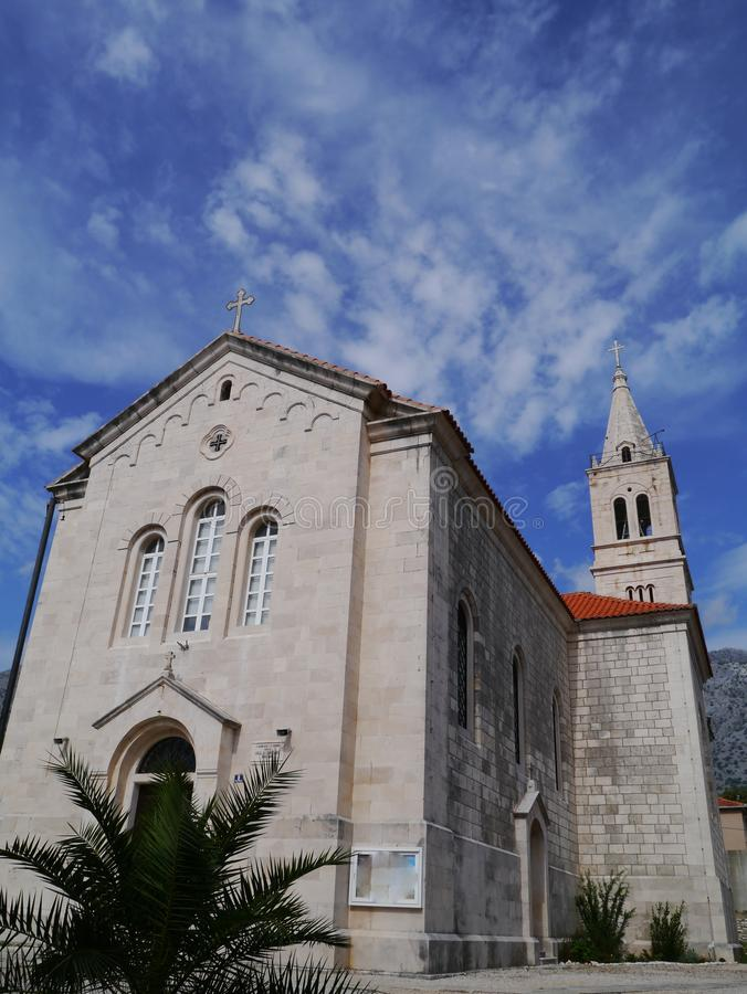 Orebic en Croatie photographie stock