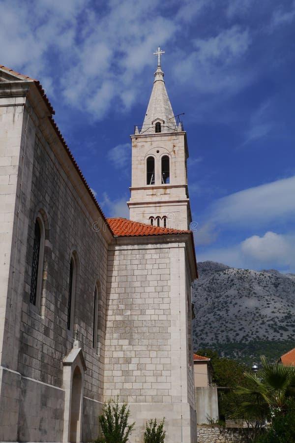 Orebic en Croatie image libre de droits