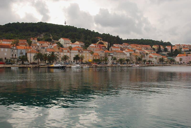 Orebic Kroatien lizenzfreies stockbild