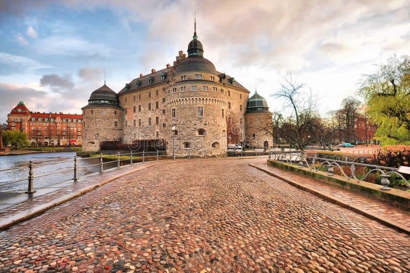 Orebro slott royaltyfri bild