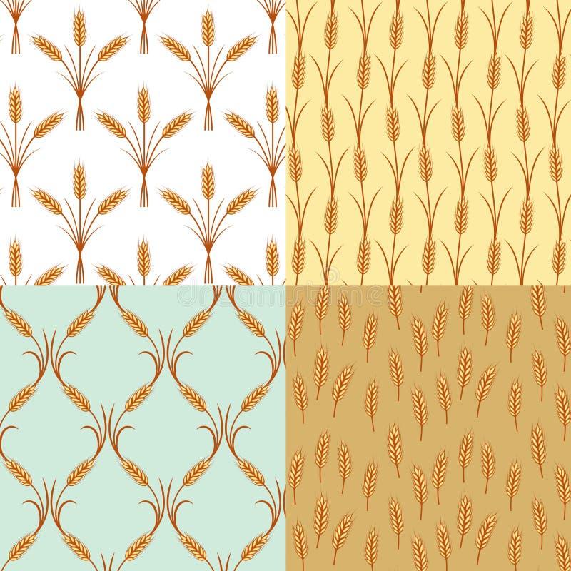 Orecchie del modello del grano royalty illustrazione gratis