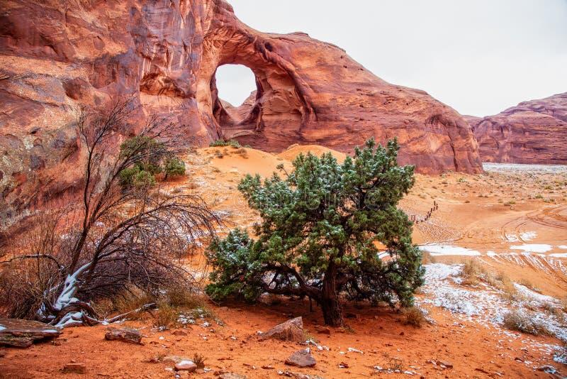 Orecchio della valle del monumento del paesaggio del vento fotografia stock libera da diritti