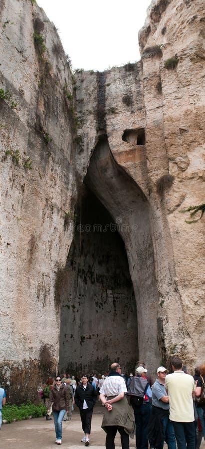 Orecchio di Dionisio ( stockfotos