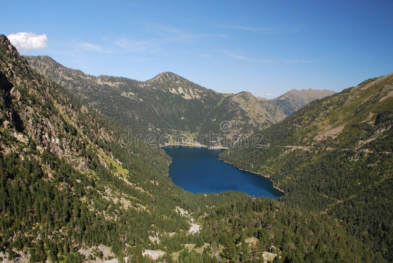 Download Oredon Lake Seen From The Dam Of Cap Long Stock Photo - Image of structure, europe: 16373118
