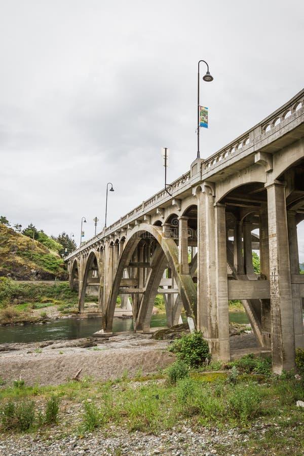 Oregon bro royaltyfria foton