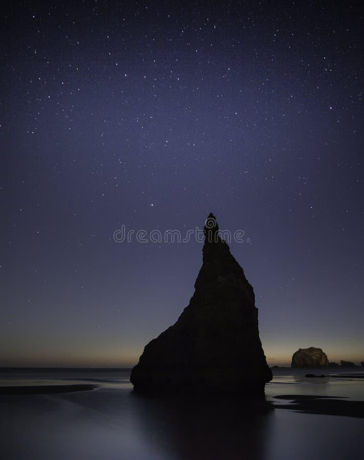 Oregon Coast Beach stock photography