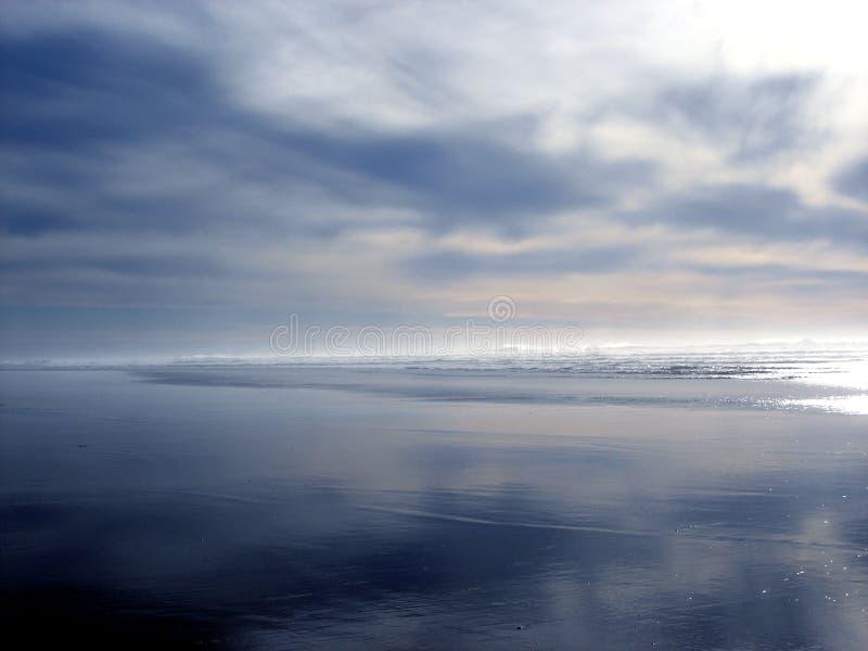 Oregon Coast @ Dusk stock images