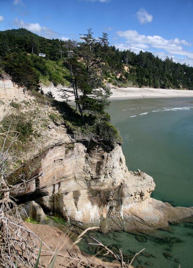 Oregon Coastline - Newport stock image