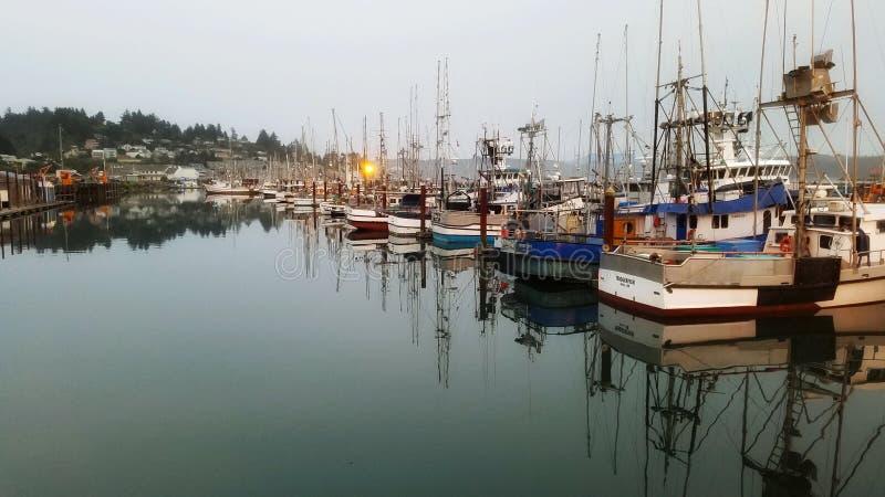 Oregon-Docks stockbilder