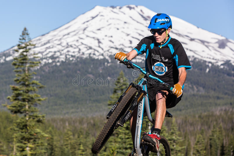 Oregon Enduro #2 - curvatura foto de stock royalty free