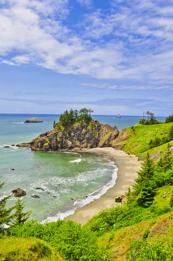 Oregon-Küste lizenzfreies stockbild