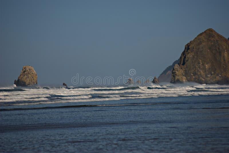Oregon-Küsten-Meer stapelt III lizenzfreies stockbild