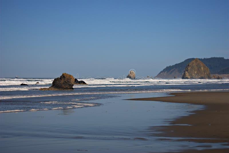Oregon-Küsten-Meer stapelt IV lizenzfreies stockbild