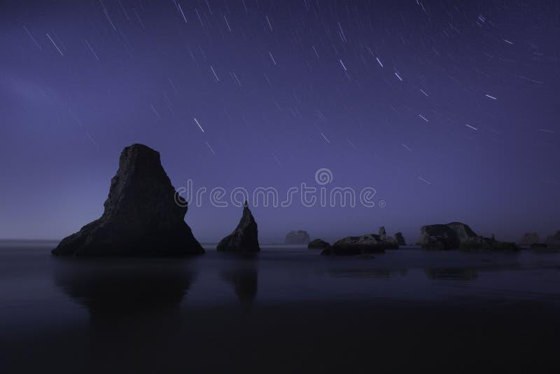 Oregon-Küsten-Strand lizenzfreie stockfotos