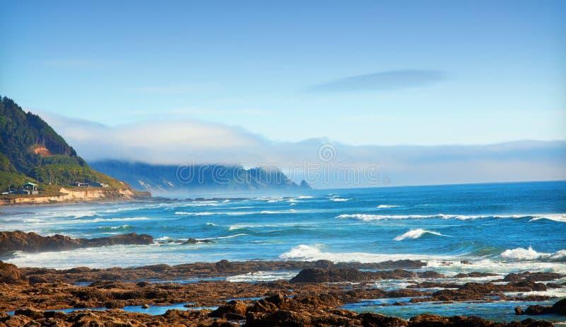 Oregon-Küstenlinie lizenzfreie stockfotografie