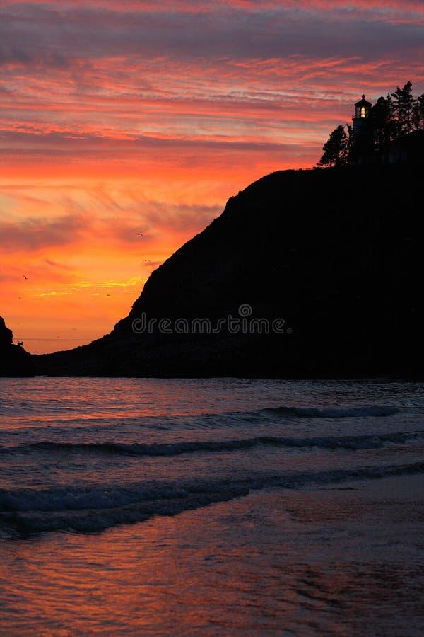 Oregon-Küsteportraits lizenzfreies stockfoto