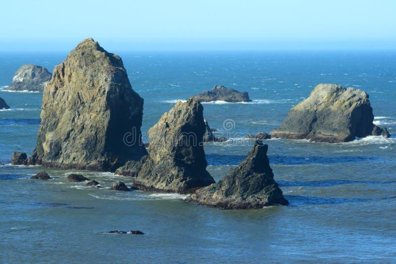 Oregon-Küsteportraits stockbilder